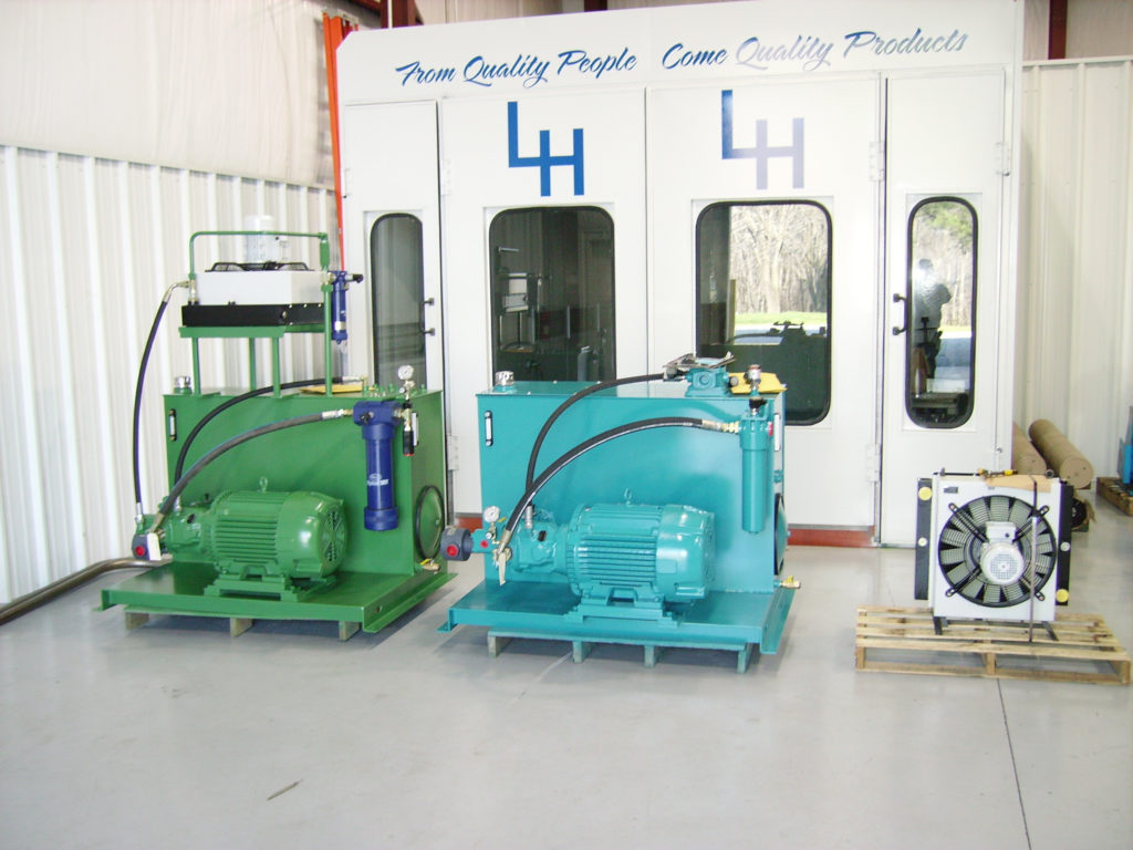 CUSTOM FABRICATED HYDRAULIC UNITS