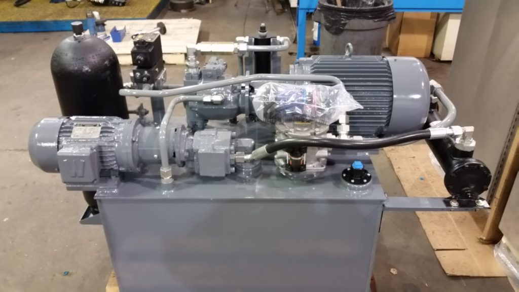 SMALL HYDRAULIC POWER UNIT.
