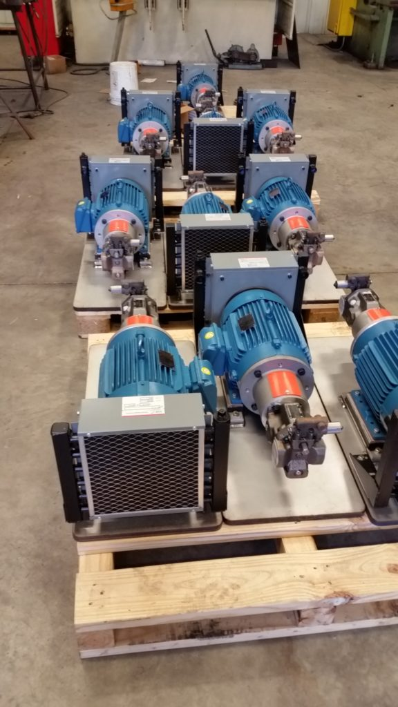 PUMP/MOTORS MOUNTED ON STAINLESS STEEL PLATES